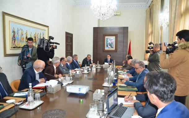 العثماني يترأس الاجتماع الثاني للمراكز الجهوية للاستثمار