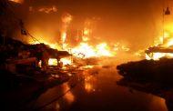 بالصور..هذه حقيقة حريق سوق ثلاثاء إنزكان