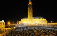 مسجد الحسن الثاني بالدار البيضاء يطفئ أضواءه يوم السبت المقبل لهده الأسباب