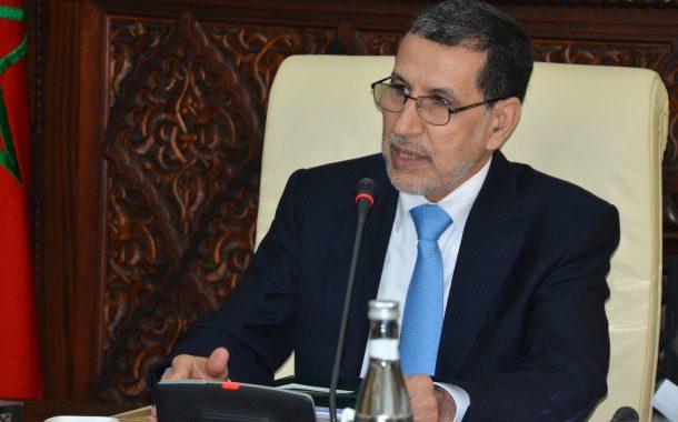 سعد الدين العثماني رئيس الحكومة: المغرب يرفض وسيتصدى لكل محاولات الانفصاليين بالمنطقة العازلة