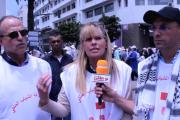 بالفيديو:سفيرة حركة الشباب الملكي بدولة الأرجنتين تتحذث عن مسيرة التضامن مع فلسطين بالبيضاء