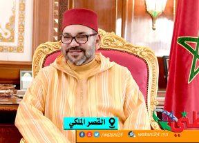 جلالة الملك يهنئ سلطان عمان