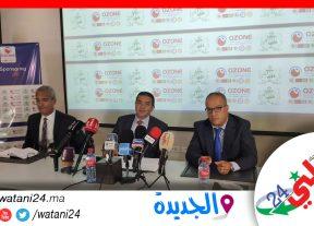 الجديدة:أوزون توقع عقد إستشهار جديد مع فريق الدفاع الحسني الجديدي