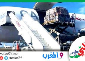 إنطلاق عملية إرسال المساعدات الإنسانية إلى لبنان بتعليمات من جلالة الملك