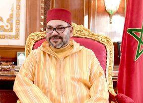 الملك يهنىء رئيس جمهورية مقدونيا