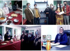 مركز التكوين المهني الإقليمي بخريبكة يحتفي بالمرأة في عيدها الوطني