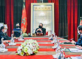 جلالة الملك يترأس جلسة عمل خصصت لإستراتيجية الطاقات المتجددة