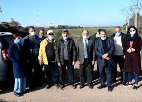 المحمدية:برلماني يستنفر مصالح وزارة التجهيز و النقل و مستشار الوزير يقوم بزيارة ميدانية لجماعة الشلالات
