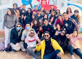 """مبادرة مواطنة لشباب من نادي """"days6″بمناسبة اليوم الوطني للوقاية من حوادث السير"""