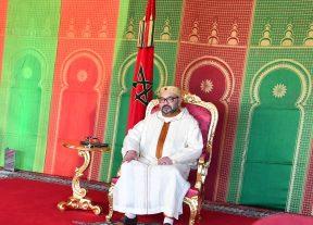 جلالة الملك ينعي الرئيس المصري إثر حادث اصطدام قطارين بمحافظة سوهاج