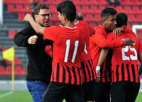 فريق شباب المحمدية يبلغ دور الربع عقب فوزه على الدفاع الحسني الجديدي