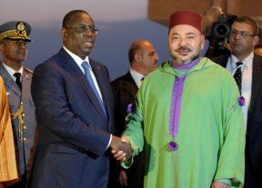 جلالة الملك يهنئ رئيس جمهورية السنغال بمناسبة عيد إستقلال بلاده