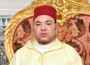برقية تعزية و مواساة من صاحب الجلالة الملك محمد السادس إلى عائلة الراحل محمد كريم العمراني
