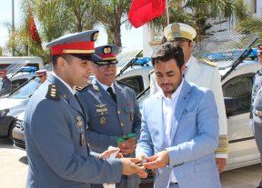 عامل إقليم مديونة يشرف على حفل تسليم سيارات الدرك الملكي