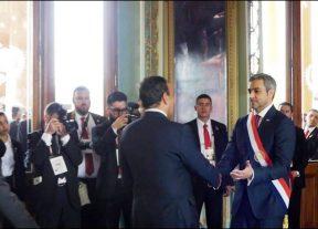 بأمر من جلالة الملك محمد السادس الحبيب المالكي يشارك في مراسيم تنصيب الرئيس الباراغواني