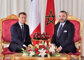 الرئيس الفرنسي يجري إتصالا هاتفيا بجلالة الملك محمد السادس