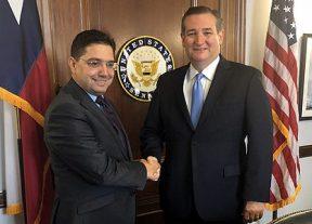 بوريطة يتباحث بواشنطن مع أعضاء بارزين في مجلس الشيوخ الأمريكي