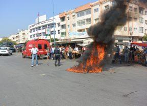 بالصور:حادثة سير خطيرة تودي بحياة سبعيني في عين حرودة