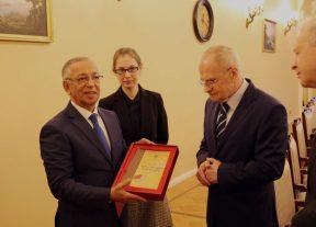 الرئيس الأول لمحكمة النقض يستقبل وفدا قضائيا روسيا رفيع المستوى بالرباط