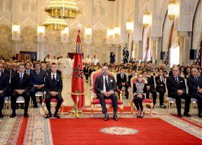 بالصور:جلالة الملك يترأس حفل تقديم الحصيلة المرحلية والبرنامج التنفيذي في مجال دعم التمدرس وتنزيل إصلاح التربية والتكوين
