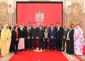 الشخصيات التي أنعم عليها جلالة الملك بأوسمة ملكية خلال حفل تقديم الحصيلة المرحلية والبرنامج التنفيذي في مجال دعم التمدرس وتنزيل إصلاح التربية والتكوين