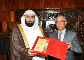 رئيس ديوان المظالم بالمملكة العربية السعودية في ضيافة محكمة النقض بالرباط