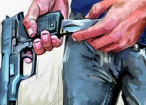 مكناس..مقدم شرطة يشهر سلاحه الوظيفي دون أن يلجأ لاستعماله لتوقيف شخص متلبس بالسرقة بالعنف