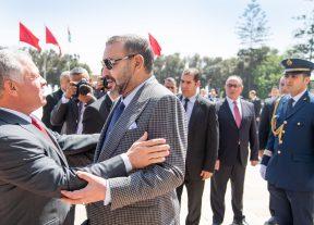 الملك محمد السادس يعزي عاهل المملكة الأردنية الهاشمية
