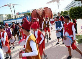ترامواي الدار البيضاء في موكب إحتفالي