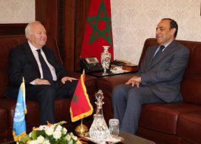 خلال إستقباله من طرف رئيس مجلس النواب..الممثل السامي للأمم المتحدة لتحالف الحضارات يؤكد أن المغرب نموذج لباقي الدول
