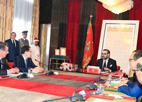 جلالة الملك محمد السادس يترأس جلسة عمل خصصت لإشكالية الماء