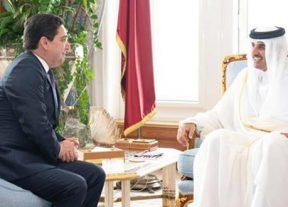 رسالة من جلالة الملك محمد السادس إلى أمير دولة قطر