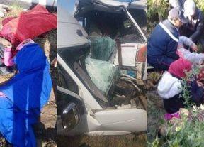 خــطــيــر:إرتفاع عدد ضحايا حادثة سير مدينة بوسلهام
