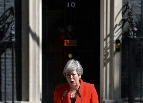تيريزا ماي تعلن عن استقالتها من رئاسة الحزب المحافظ ورئاسة الحكومة بريطانيا