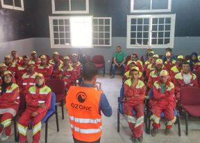التكوين في النظافة والسلامة الصحية أهم ما جاءت به الدورة التكوينية لعمال مجموعة أوزون في إقليم إبن سليمان+(صور)