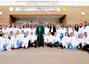 الملك يدشن بمقاطعة سيدي مومن مركزا طبيا للقرب -مؤسسة محمد الخامس للتضامن مخصص لتعزيز عرض العلاجات لفائدة الساكنة الهشة