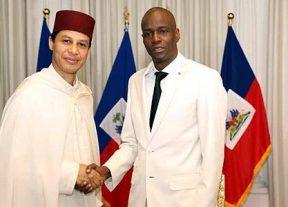 سفير المغرب في هايتي يقدم أوراق اعتماده للرئيس جوفينيل مويس
