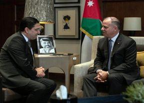نائب العاهل الأردني يستقبل ناصر بوريطة