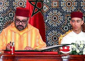 الملك محمد السادس يراسل رئيس مجلس الإتحاد الأوروبي وها علاش