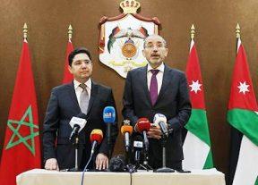 وزير الخارجية الأردني يجدد التأكيد على دعم بلاده للوحدة الترابية للمملكة المغربية
