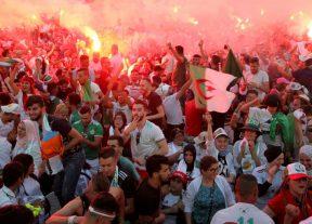"""هكذا استقبل الجزائريون أبطال """"الكان"""" مصر 2019"""