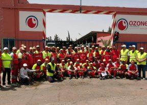 """عيد الأضحى:مجموعة""""أوزون""""للبيئة والخدمات تخلق الحدث بالمدن المغربية(الصور)"""