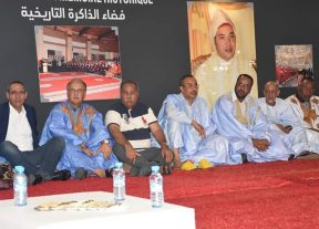 الداخلة:رئيس المجلس الجهوي يحضر خيمة شعرية على هامش مهرجان وادي الذهب