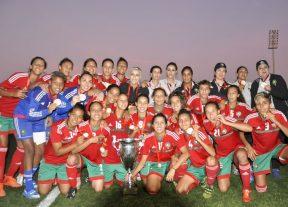 المنتخب الوطني لكرة القدم النسوية لأقل من 20 سنة يفوز بدورة إتحاد شمال إفريقيا+(صور)