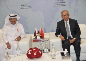 بالصور:فارس يستقبل في مراكش نائب رئيس محكمة التمييز لدولة قطر