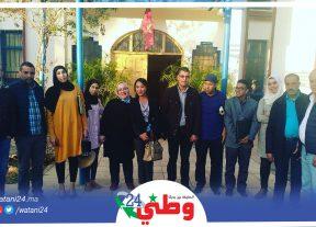 الجهوية المتقدمة موضوع لقاء تواصلي من تنظيم تنسيقية الهيئة المغربية للشباب الصحراوي بجهة الرباط سلا_القنيطرة
