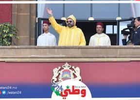 جلالة الملك يدعو أعضاء البرلمان إلى إدراج السنة التشريعية في إطار المرحلة الجديدة التي تدخلها البلاد