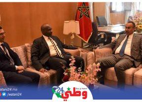 الـداخـلـة:رئيس المجلس الجهوي  يستقبل الوزير الأول السابق لجمهورية مالي