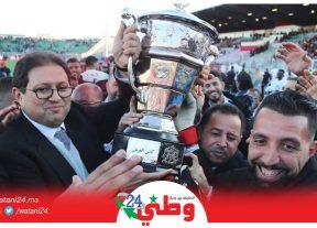 بالصور:فريق الإتحاد البيضاوي يحرز لقب كأس العرش على حساب فريق حسنية أكادير 2-1