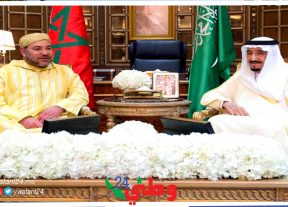 الملك سلمان يهنئ جلالة الملك محمد السادس بمناسبة عيد الإستقلال
